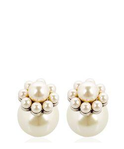 Mawi | Daisy Imitation Pearl Studs