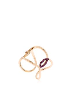 Delfina Delettrez | Eye Kiss You Earclipse Ring