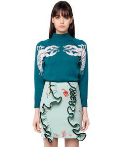 Vivetta | Lobster Jacquard Wool Knit Sweater
