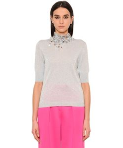 Delpozo | Sequined Lurex Sweater