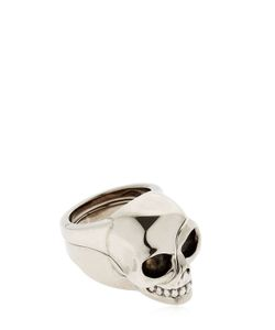 Alexander McQueen | Divided Skull Plated Brass Ring