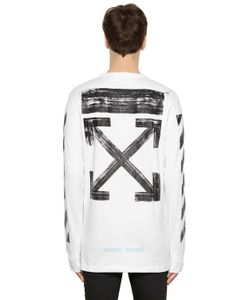 Off-White | Brushed Arrows Jersey Oversize T-Shirt