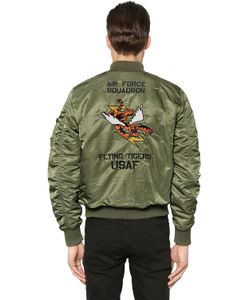 Alpha Industries | Ma-1 Vf Flying Tigers Slim Bomber Jacket