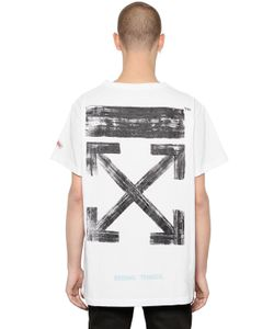 Off-White | Brushed Arrows Cotton Jersey T-Shirt