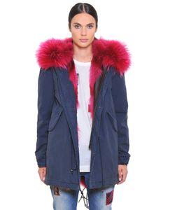 Mr & Mrs Italy | Canvas Parka W/ Coyote Murmansky Fur