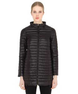 Duvetica | Eledhwen Quilted Nylon Long Down Jacket