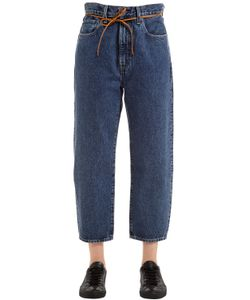 LEVI'S MADE & CRAFTED   Barrel Cotton Denim Jeans