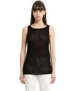 Calvin Klein Collection | Cotton Knit Tank Top