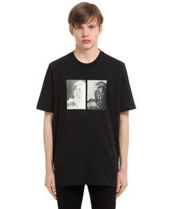 Oamc | Sos Tupac Print Cotton Jersey T-Shirt