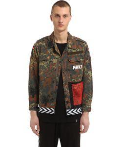 MRKT | Camo Printed Vintage Cotton Field Jacket
