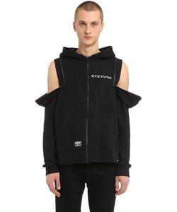 KTZ | Double Zip Hooded Cotton Sweatshirt
