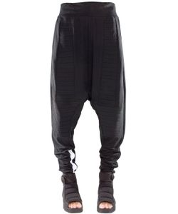 Demobaza | Aware Baggy Cotton Jersey Pants