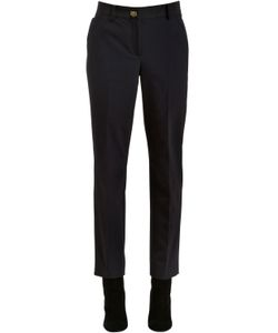 Salvatore Ferragamo | Techno Gabardine Pants W Logo Buckle