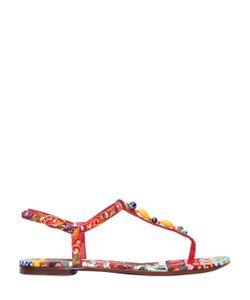 Dolce & Gabbana | 10mm Maiolica Printed Sandals