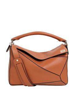Loewe   Medium Puzzle Leather Top Handle Bag