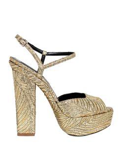 DSquared²   150mm Brocade Platform Sandals
