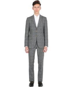 Gucci | Prince Of Wales Wool Flannel Suit