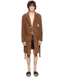 Fendi | Flower Patch Cotton Terrycloth Bathrobe