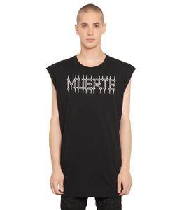 Marcelo Burlon County Of Milan   Orlando Sleeveless Cotton Jersey T-Shirt
