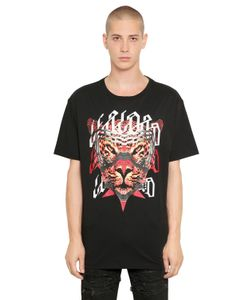 Marcelo Burlon County Of Milan | Nestor Printed Cotton Jersey T-Shirt