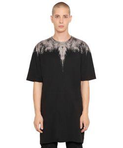 Marcelo Burlon County Of Milan   Yago Agugliato Cotton Jersey T-Shirt