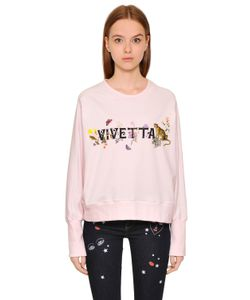 Vivetta | Logo Printed Cotton Sweatshirt