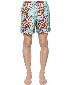 Vilebrequin | Moorea Coral Fish Swim Shorts