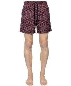 Vilebrequin | Moorea Anchors Printed Swim Shorts