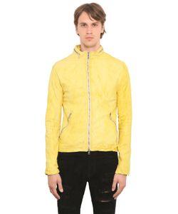 Giorgio Brato | Washed Nappa Leather Jacket