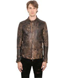 Giorgio Brato | Vintage Effect Washed Nappa Jacket