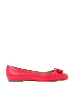 Salvatore Ferragamo | Varina Leather Ballerina Flats