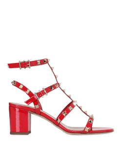 Valentino | 60mm Rockstud Patent Leather Sandals
