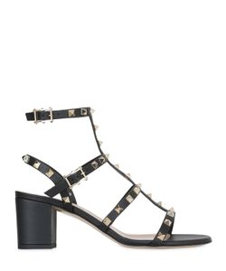 Valentino | 60mm Rockstud Leather Sandals