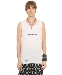 KTZ | Printed Cotton Jersey Tank Top