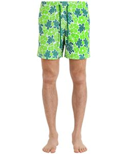 Vilebrequin | Moorea Hawaiian Turtles Swim Shorts