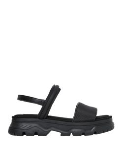 DKNY | 40mm Addie Rubberized Leather Wedge