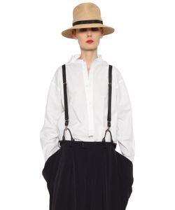 Y's | Oversized Stretch Cotton Poplin Shirt