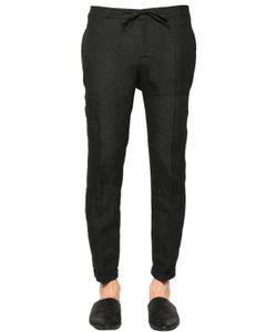 The Kooples | Comfort Tailored Linen Canvas Pants