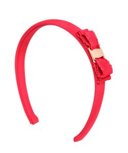 Salvatore Ferragamo | Cotton Grosgrain Headband W/ Bow