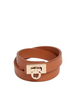 Salvatore Ferragamo | Gancio Leather Bracelet