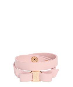 Salvatore Ferragamo | Bow Leather Bracelet