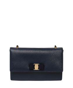 Salvatore Ferragamo | Large Ginny Saffiano Leather Bag