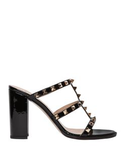 Valentino | 90mm Rockstud Patent Leather Sandals