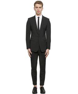 Dolce & Gabbana | Polka Dot Printed Virgin Wool Suit