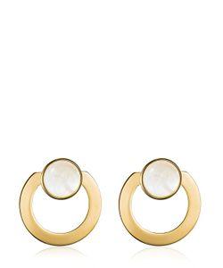 Vita Fede | Moneta Open Mother Of Peal Earrings