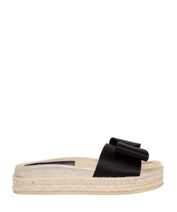 Laurence Dacade | 45mm Nolga Satin Bow Slide Sandals