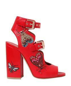 Laurence Dacade | 90mm Nelen Eden Beaded Leather Sandals