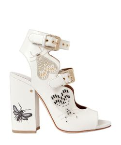 Laurence Dacade | 90mm Nelen Eden Beaded Leather Sandals