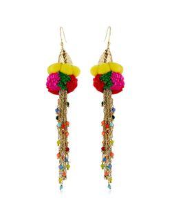 Rosantica   Rosita Pompom Earrings