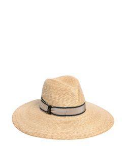 Borsalino | Wide Brim Braided Straw Hat
